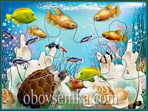 паззлы на тему море